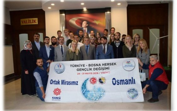 Javni poziv za razmjenu mladih iz Visokog sa mladima iz Balikesira (Turska)