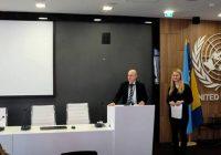Predstavnici Udruženja, na konferenciji UN-a